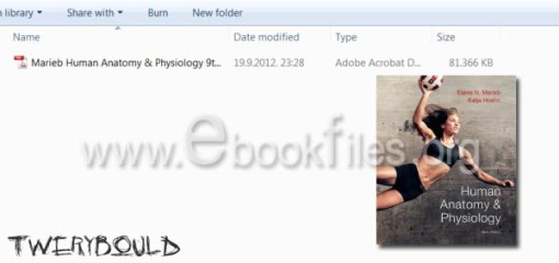 Human Anatomy & Physiology 9th Edition Marieb Free Download